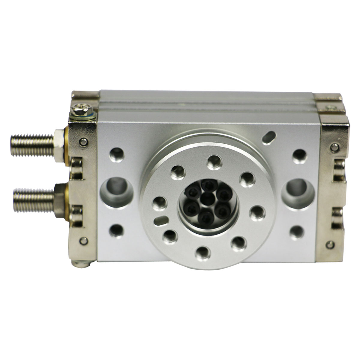Rotary pneumatic cylinder for rotary ice cream cup filling sealing machine